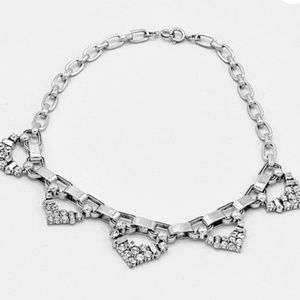 Stella & Dot Jewelry - Stella & dot silver with crystal necklace